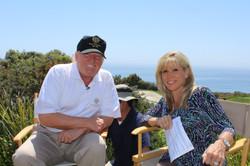 Maria with Mr. Trump