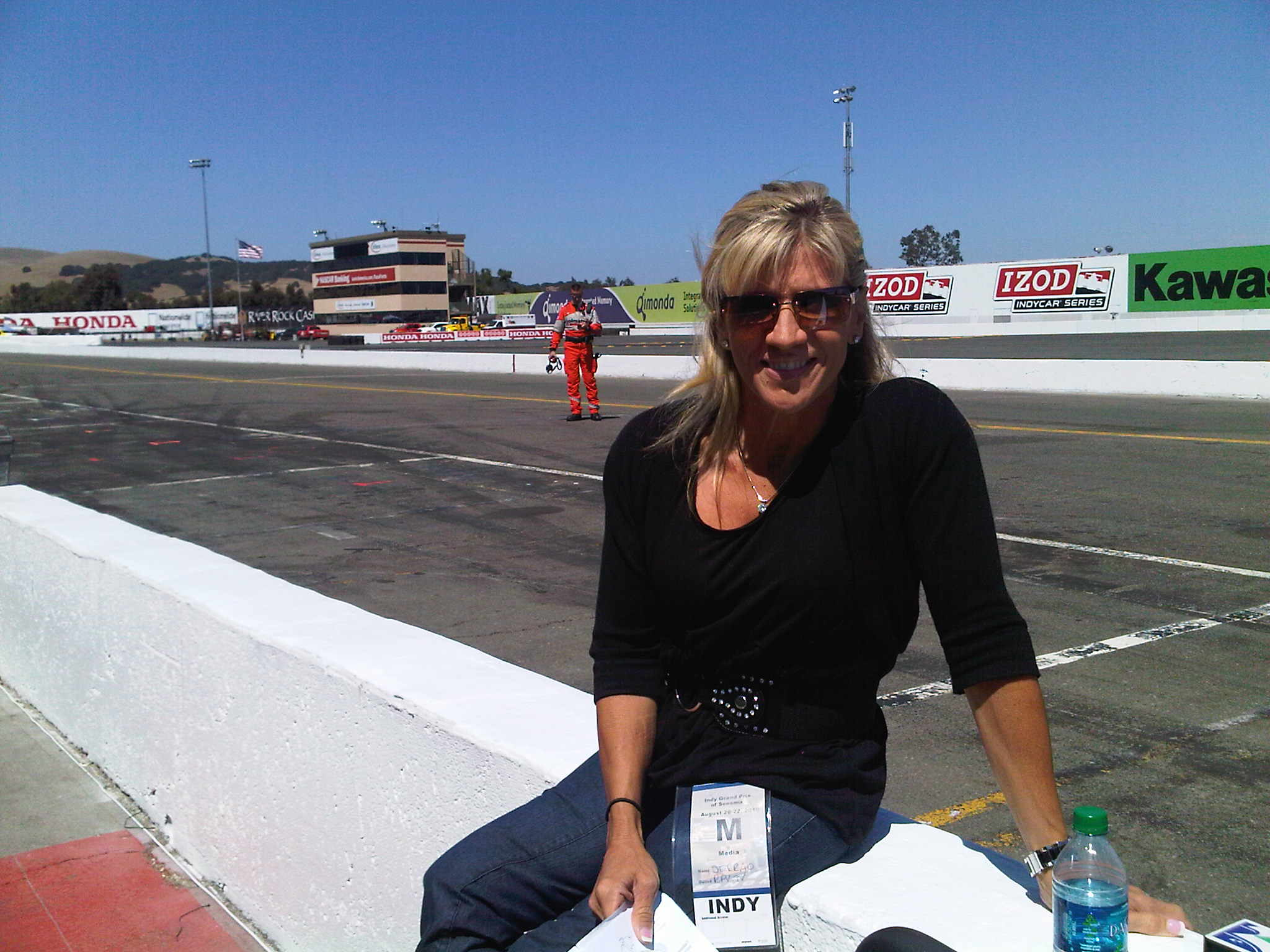 Maria Trackside in Sonoma