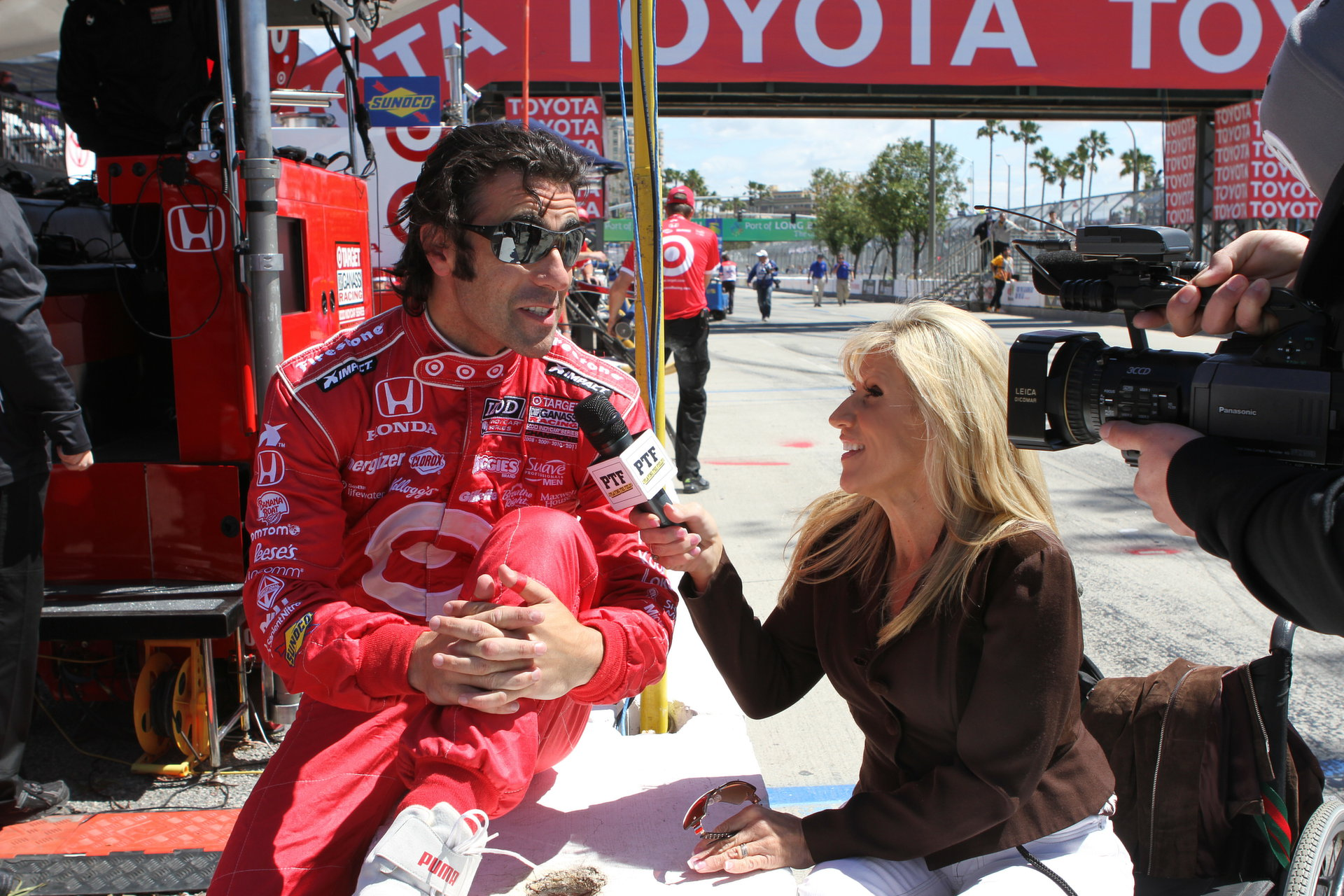 Maria and Dario Franchitti