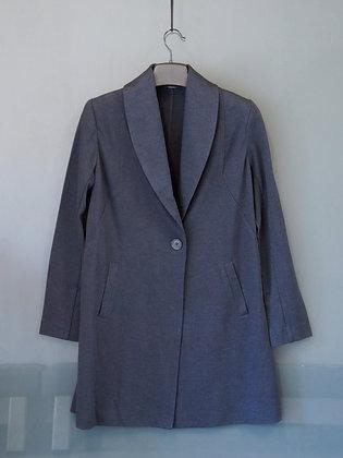 灰藍色西裝外套