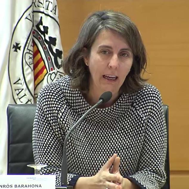 Celsa Monrós - «Estrategias de adaptación al cambio climático; de la COP al espacio valenciano»