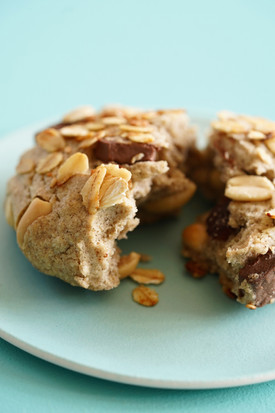 Cookies chocolat noir, cacahuètes et fève tonka
