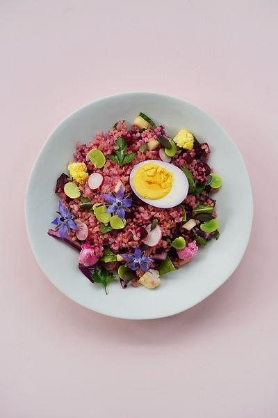 Création de recettes colorées - Cuisine naturelle - Set design