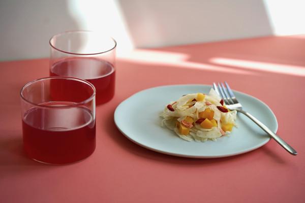 Salade de fenouil, orange et butternut