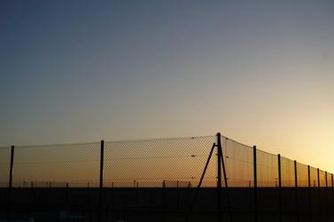 Coucher de soleil à Trouville