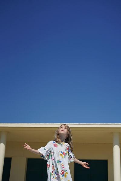 L'enfance : direction artistique et photographie mode enfant portrait