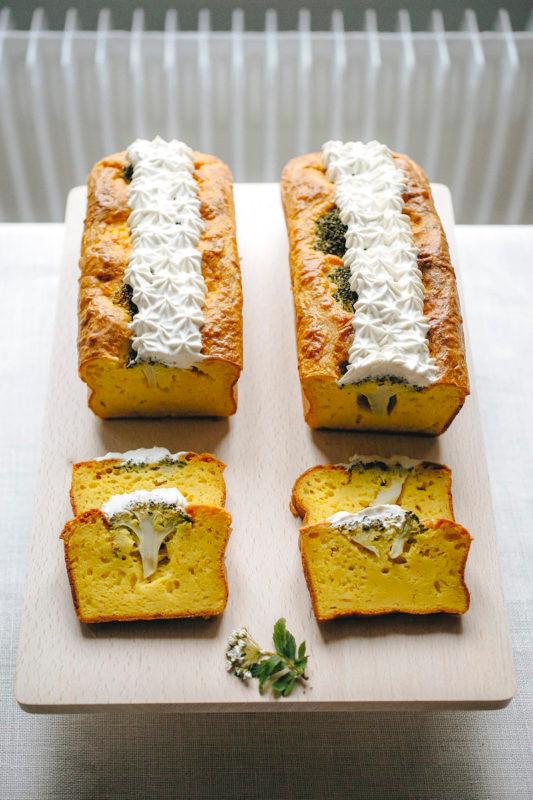 Recette Cake Brocolis Curcuma