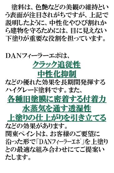 関東ペイント株式会社 カントウペイント 関東ペイント DANフィーラー 防水 塗装 口コミ