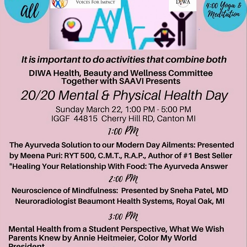 Mental and Physical Health Day