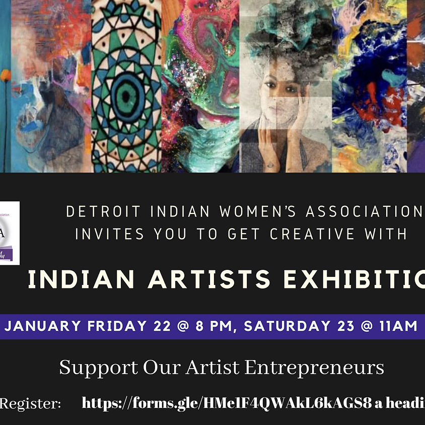 Indian Female Artists Exhibition