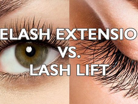 Lash Lift vs. Lash Extensions, Which one is right for you?