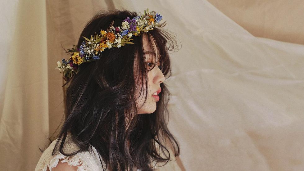 <オーダー>花かんむり