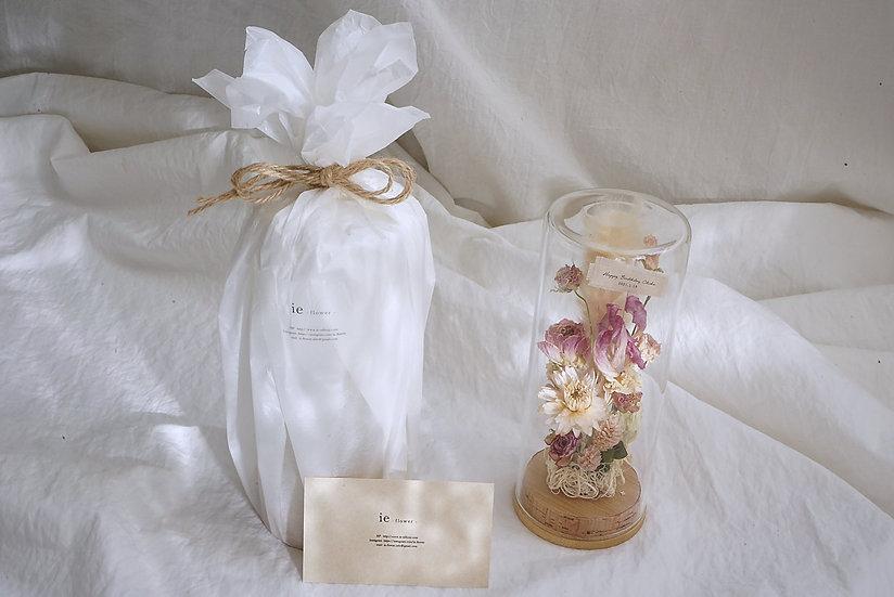 Glass bottle gift