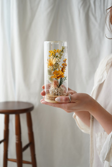 <mother's day> Glass gift bottle