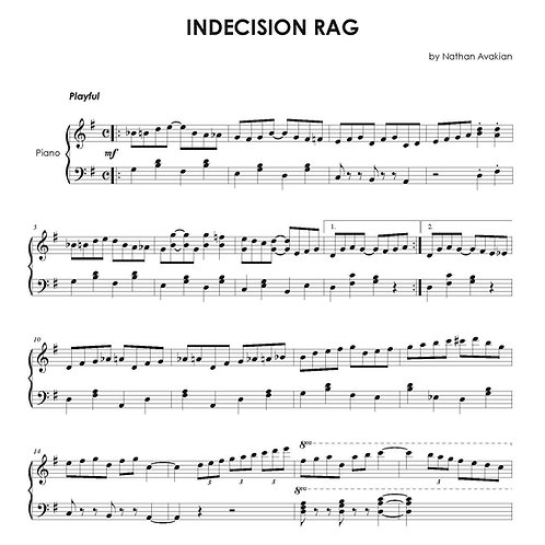 Indecision Rag (PDF)