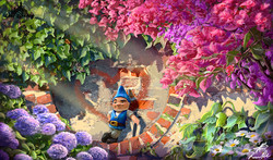 "Concept Art ""Gnomeo and Juliet"" Disney-Touchstone"