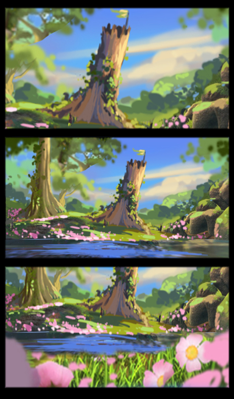 "color script ""Maya the bee Movie"""