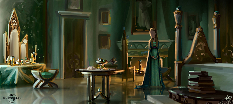 "color key  ""The tale of Despereaux"" Universal"