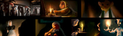 "color keys  ""The tale of Despereaux"" Universal"