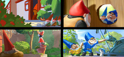 "color script ""Gnomeo and Juliet"" Disney-Touchstone"