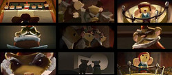 "color script  ""The tale of Despereaux"" Universal"