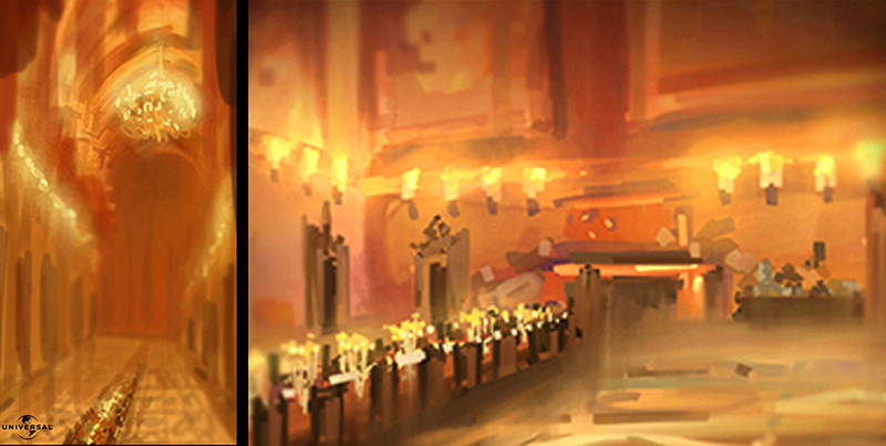 "Concept Art  ""The tale of Despereaux"" Universal"