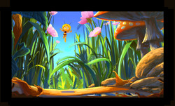 "concept art ""Maya the bee Movie"""