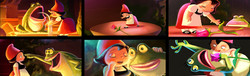 "color keys ""Gnomeo and Juliet"" Disney-Touchstone"