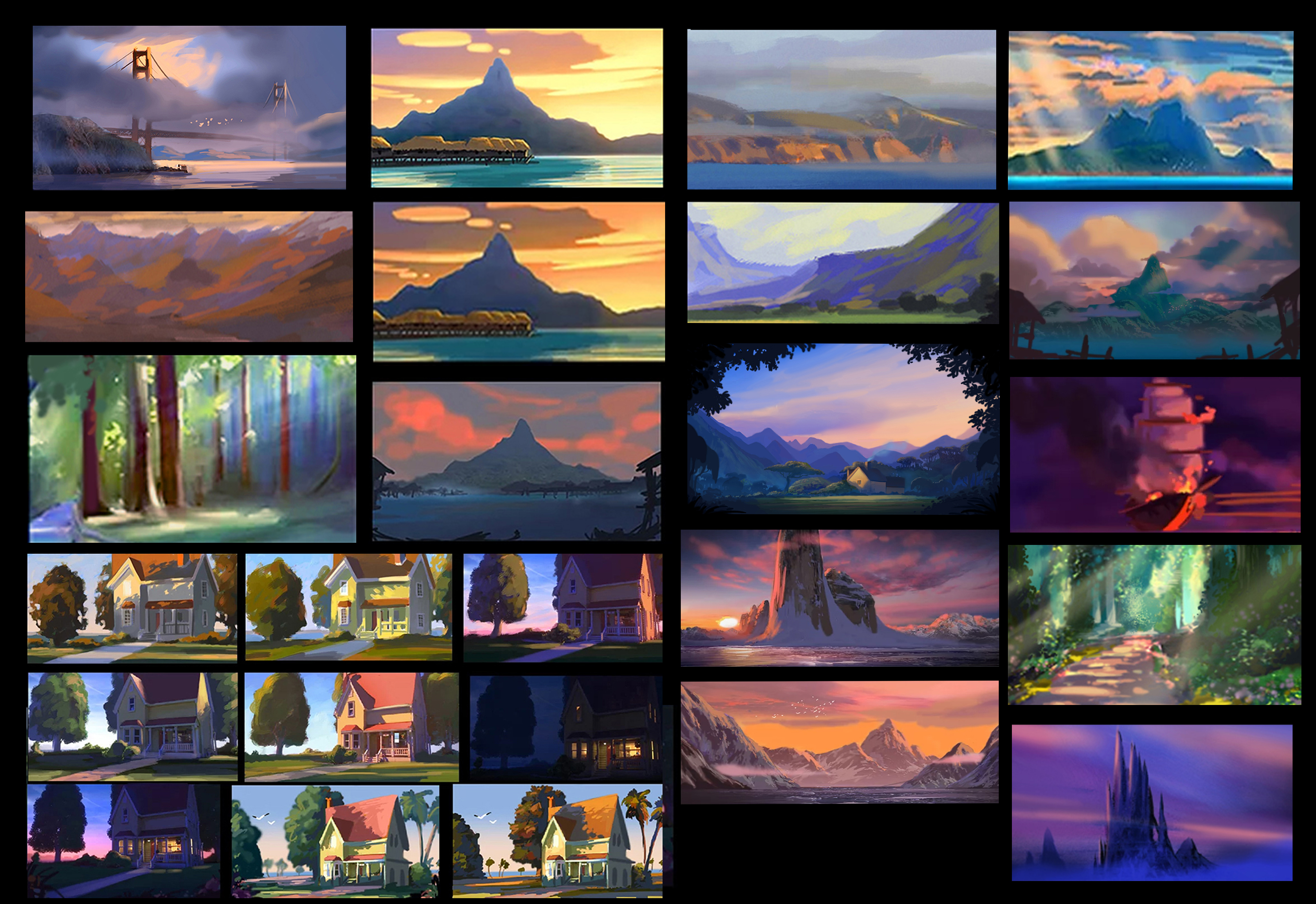Color Keys for Animated Feature projects
