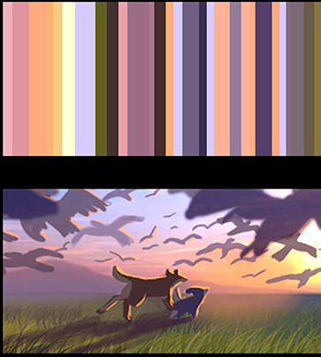 "color script ""RoboDog"" Marza Animation Planet"