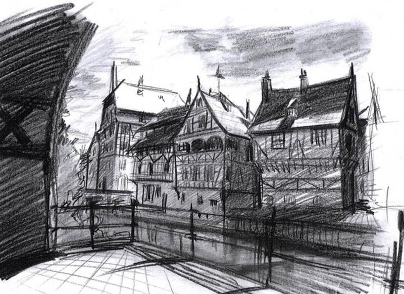 Amsterdam -sketch
