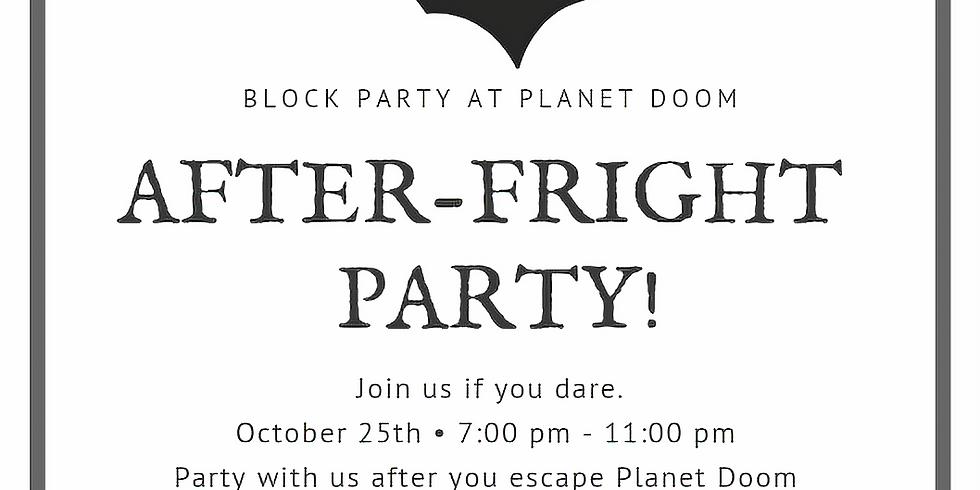After-Fright Party