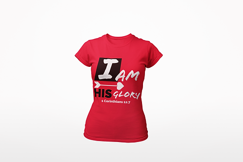 I Am HIS Glory-Womens Tee