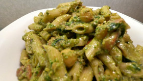 Vegan Harvest Pesto Pasta