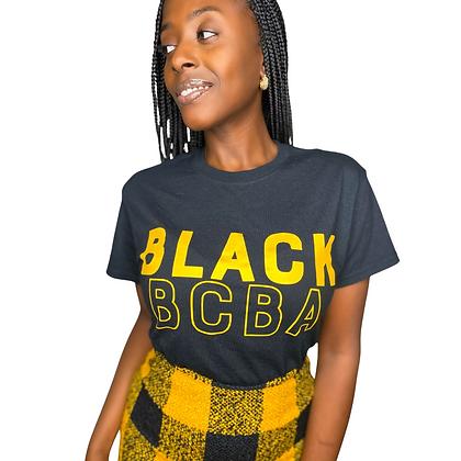 Black BCBA Tee