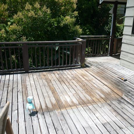 Old spa pool gone