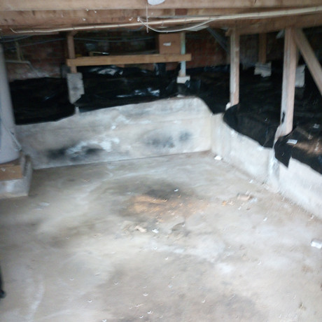 Under house cleared