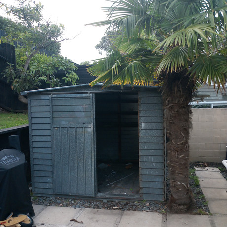 We remove sheds