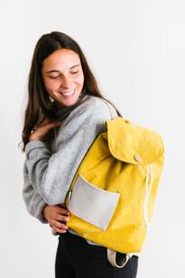 velours backpack