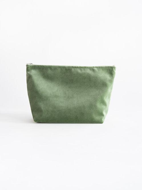 Velvet toiletry bag