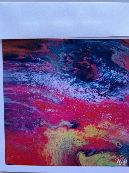 """""""Multicolor Fusion"""" card"""