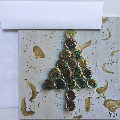 Glass Beads Christmas Tree