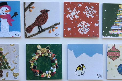 Assortment Pack #2 of 8 Holiday cards