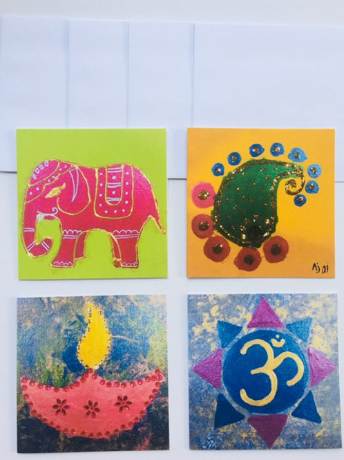 Ethnic cards collection