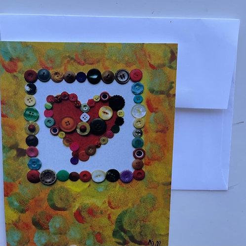 """Radiant Love"" card"