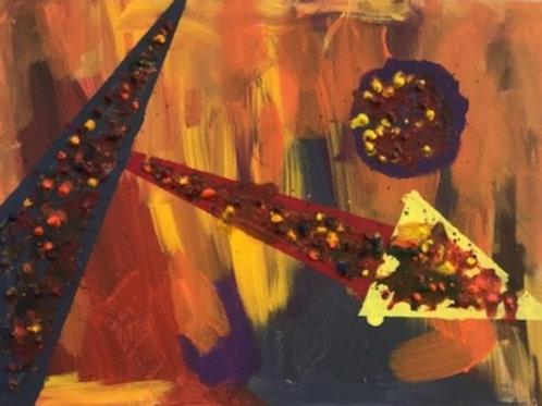 'Giraffeiti' - Abstract Art
