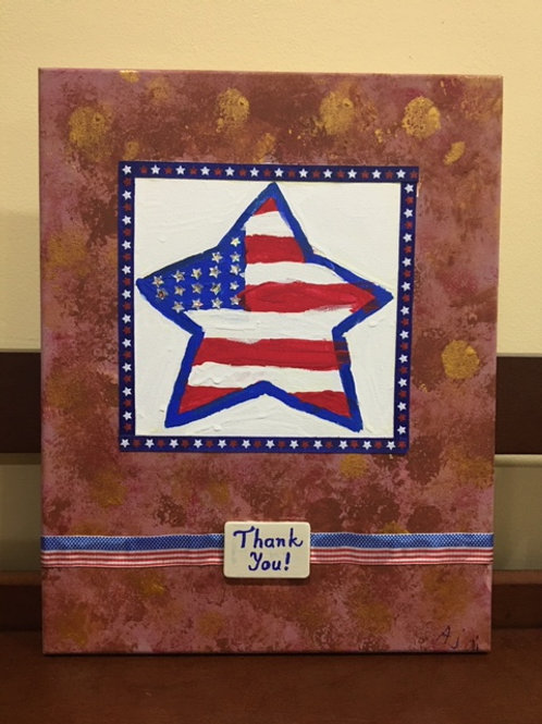 """Stars and Stripes"" - Thank you"
