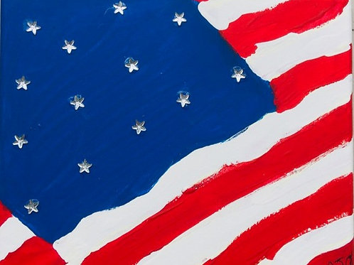Patriotic US Flag
