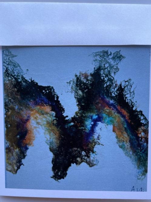"""""""Flying Dragon"""" card"""