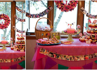 A simple first birthday party